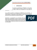 Informe de Panetone