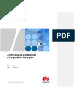GSM-R 5.0 DBS3900 Configuration Principle Models