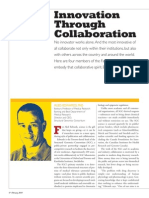 2 Innovation Through Collaboration February2010 Fac Medicine