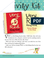 Very Little Red Riding Hood Activity Kit