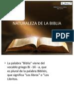 Naturaleza de La Biblia Expo Tarea