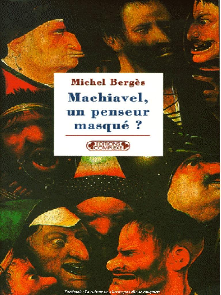 Michel Berges - Machiavel, Un Penseur Masqué 4d8d8980186