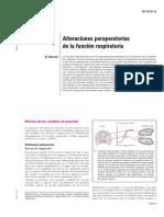 Alteraciones Perioperatorias Función Respiratoria