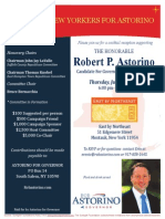 Cocktail Reception for Robert P. Astorino