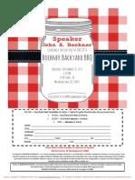 2014 Boehner Backyard BBQ for John Boehner