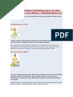 Los Arquetipos Infantiles Para Su Uso Terapéutico Con Niños y Adolescentes