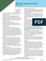 Póliza Premier Contra el Cáncer, Nivel 2 (A-52000-33)