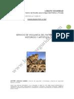 Servicio de Vigilancia Del Patrimonio Historico y Artistico