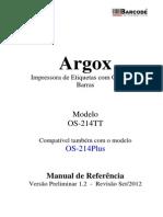 ArgoxManualReferencia