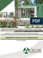 Ambientes Virtuales de Aprendizaje-Ambientes Virtuales de Aprendizaje