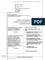 Blue Sphere v. Taylor Swift - Lucky 13 Trademark Amended Complaint