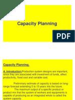Cap Planning