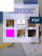 Guia de Intervencion Educativa Para Alumnado Con TDAH Y TA