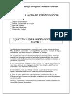 Apostila de Língua Portuguesa Ensino Médio