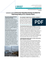 Lessons Learned from the Fukushima Nuclear Accident for Improving Safety of U.S. Nuclear Plants