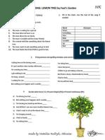 Lemon-tree-tasks-1 Pres S Pres Cont