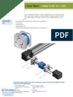 Gam Linear Slide Kit Spec Sheet