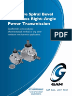 Gam Mini Bevel Gearboxes L Catalog
