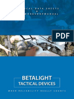 Betalight Tritium Illumination Devices