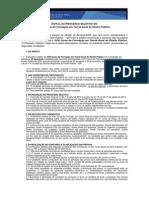 Edital XVIII Curso de Teoria Geral Do Direito Público 2014.2