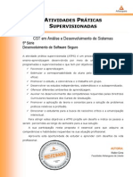 2013 1 CST ADS 5 Desenvolvimento Software Seguro
