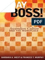 G Day - Australian Culture in the Workplace