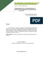 Expansão Metropolitana Contemporânea - A Região Metropolitana de Fortaleza No Inicío Do Século XXI
