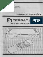 T3100 BAIXAR RECEPTOR PLUS TECSAT MANUAL