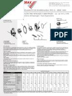 Acoplamento de Engrenagem Tipo G - Instalação e Manutenção