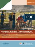 INTA IPAFNOA Desarrollo Tecnologias Agric.fliar.