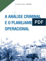 A Análise Criminal e o Planejamento Operacional