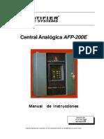 Manuale Afp-200 Español