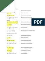 Mathcad - Formulas y Deformada de Mensula