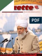 Ahmadiyya Gazette June 2010