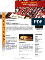 The Kung Fu School Newsletter Vol 3 Issue 2