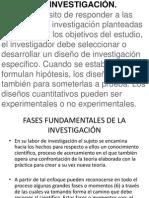 Diseño de Investigación. (Metodologia de La Investigacion)