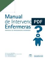 Manual de Intervenciones Enfermeras Protocolo de Procedimientos Enfermeros 2009