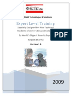Kalpesh Sharma Expert Level Training for Non-Technical Students
