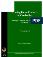 Trading Forest Products in Cambodia