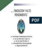 Unidad 4 - Optimización y Alto Rendimiento