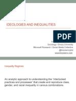 Democratizing Ideologies and Inequality Regimes