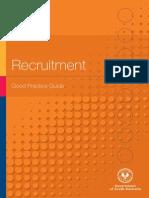 021 Recruitment Good Practice Guide