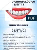 Presentacion Del Centro Odontológico Risitas
