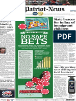 Front - A1 -The Patriot-News - July 22, 2014