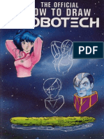 The Official How to Draw Robotech 02