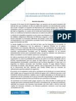 Informe Del Club de Paris-Ministerio de Economía