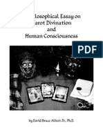 A Philosophical Essay on Tarot Divination and Human Consciousness