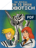The Official How to Draw Robotech 03