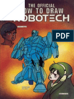 The Official How to Draw Robotech 06
