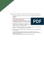 Trabajo Proyecto Ley de Notariado